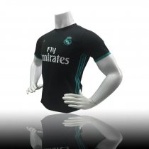 17/18 Adult Real Madrid Away Black Jersey Adult Ronaldo Soccer Shirt Men Team Sport Kits