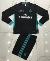 Real Madrid Away Long Sleeve Jersey Uniforms