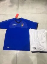 Kids Italy Soccer Jersey Uniforms