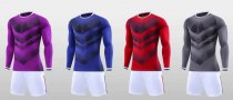 Men Soccer Uniform Long Sleeve