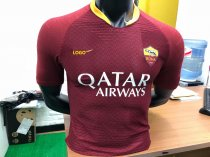 18-19 Men Player Version Roma Home Red Soccer Jersey Football Shirt
