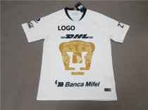 18-19 Pumas white Soccer Jersey-Thai Quality