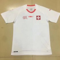 18-19 Switzerland Away white Soccer Jersey -Thai Quality