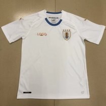 18-19 Uruguay Away white Soccer Jersey -Thai Qualit