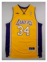 LAKERS 34 O NEAL BASKETBALL JERSEY