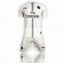 2018/19 Adultpsg white soccer jersey uniform youth football kit