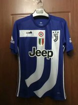 603051238 18 19 Thailand Quality Adult Juventus Blue Soccer Jersey Men Football Kits  Top Shirt Commemorative
