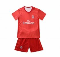 18/19 Kids Real Madrid Third Soccer Football Jersey Uniforms For Boys Kits