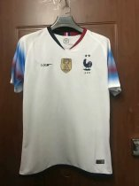 2019/2020 Thai Quality France Away Jersey Two Star Fans Version White
