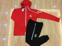2018-19 Real Madrid Red Football Jacket  Soccer Tracksuit