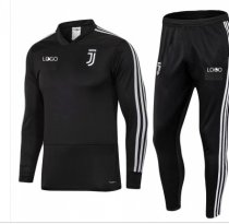 201819 Kids Juventus Black Training Tracksuits children Football Track Suit Jacket