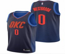 Adult Basketball Jersey Westbrook OKC 0  Oklahoma City Thunder Shirt