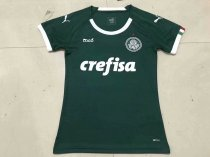 19/20 New Season  Women   Palmeiras Home Soccer Jersey Green