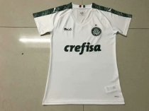 19/20 New Season  Women   Palmeiras Away Soccer Jersey White