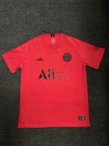 19/20 Men PSG Training Football T Shirt Soccer Jersey Red