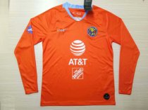 19-20 Men America Third Long Sleeve Orange Soccer Jerseys