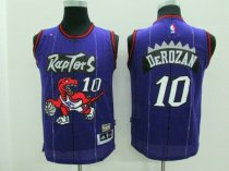 DeMar DeRozan adult jersey purple 10 Toronto Raptors