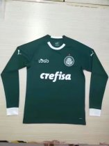 2019-20 Palmeiras Home Long Sleeve Soccer Jersey Thai Quality
