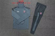 2019/20 Kids FC Bayern Soccer Training Tracksuit  Grey