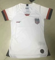 2019-20 Women USA Home Soccer Jersey Shirt Thai Quality