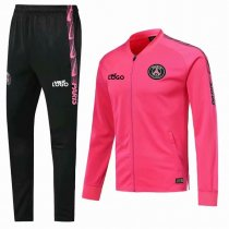 2019-20 Men PSG Soccer Jacket Adult Football Tracksuit Pink