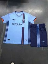 2019-20 New York City FC Home Jersey Uniforms Blue Adult Football Kits
