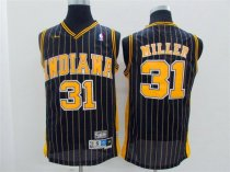 Adult indiana pacers 31 miller basketball jersey