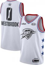 Men's 2019 NBA All-Star Game Russell Westbrook White Dri-FIT Swingman Jersey