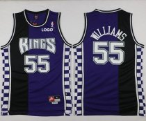 Hot 2018 Kings #55 Jason Williams Basketball Purple/Black