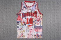 SLAM DUNK Shohoku No 10 Basketball  Jersey