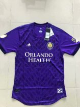 2019-20 Men Player Version Orlando City Home Soccer Jersey -Thai Quality