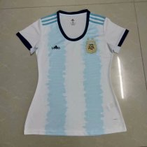2019-20 Woman Argentina Home Soccer Jersey Football Shirt