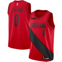 Portland Trailblazers Red Basketball Jersey Men Shirt