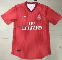 18/19 Men Real Madrid Third Away Player Version Soccer Jersey  Football Shirt