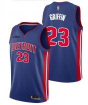 Adult Detroit 23 Griffin Basketball Jersey