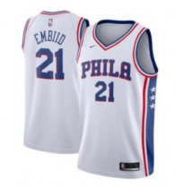 Adult Phila 21 white embiid
