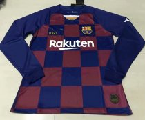 19-20 Adult Barcelona Home HAN verson Soccer Long sleeve Jersey