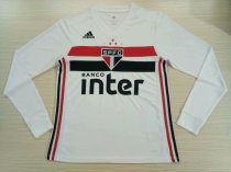 2019/20 Men Sao Paulo Away Thai Quality Soccer Long sleeve Jerser