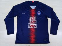 2019/20 Men Paris Saint-Germain Fan Quality Soccer Long sleeve Jersey