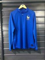 40221731296 2019 20 Adult France bule Thai Quality Long sleeve Soccer jersey