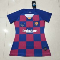 2019/20 Women Barcelona Home thai version Soccer jersey