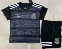 2019/20 AAA Quality Mexico balck Childen Soccer uniforms Mexico