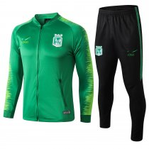 2018/19 Adult Atletico Nacional Medellin green long sleeve Soccer tracksuit
