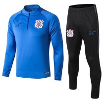 2018/19 Adult Corinthian blue long sellve Soccer tracksuit trainning suit