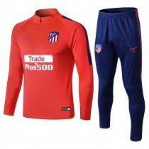 2018/19 Adult Atletico orangen red men Soccer tracksuit trainning suit