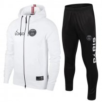 2018/19 men Jordan white long sleeve Soccer hoodie jacket tracksuit