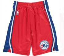 Men 76 Basketball Short Red
