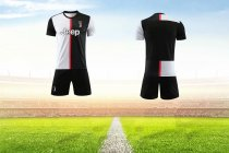 19-20 AAA Quality juventus home Adult Soccer uniforms