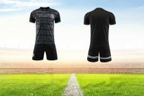 19/20 AAA Quality  Adult Mexico home balck Soccer uniforms