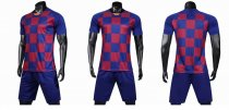 19-20 AAA Quality blank version lattice Adult Socce uniforms